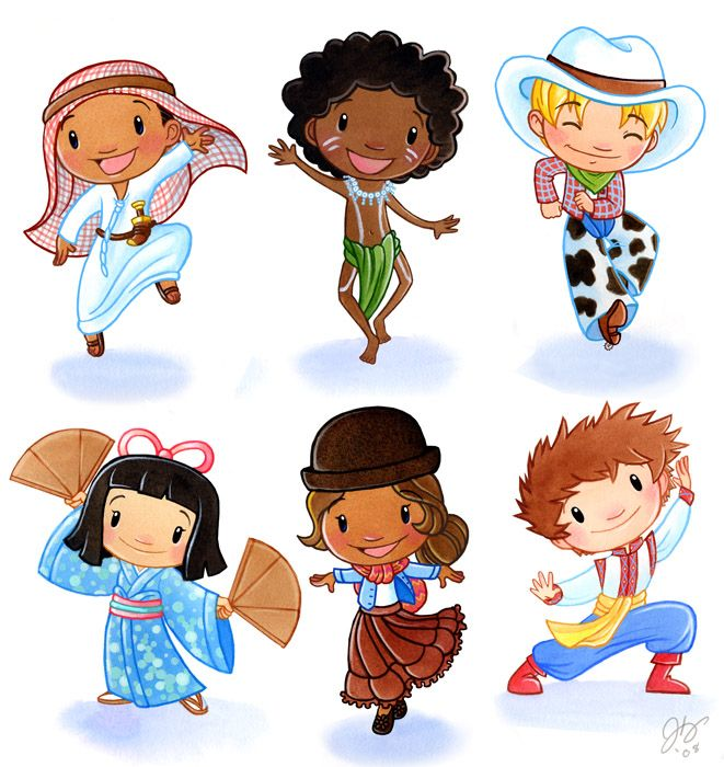 Continent clipart kid On world the best of