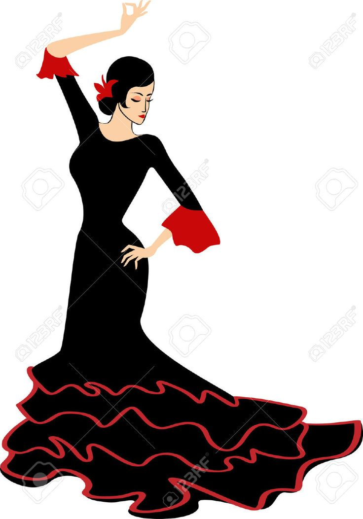 Traditional Costume clipart spanish music CLOTHING 57 on Clothing Spain
