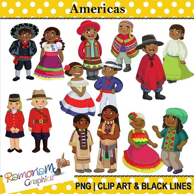 Traditional clipart traditional clothes Of Traditional Americas Historical Americas