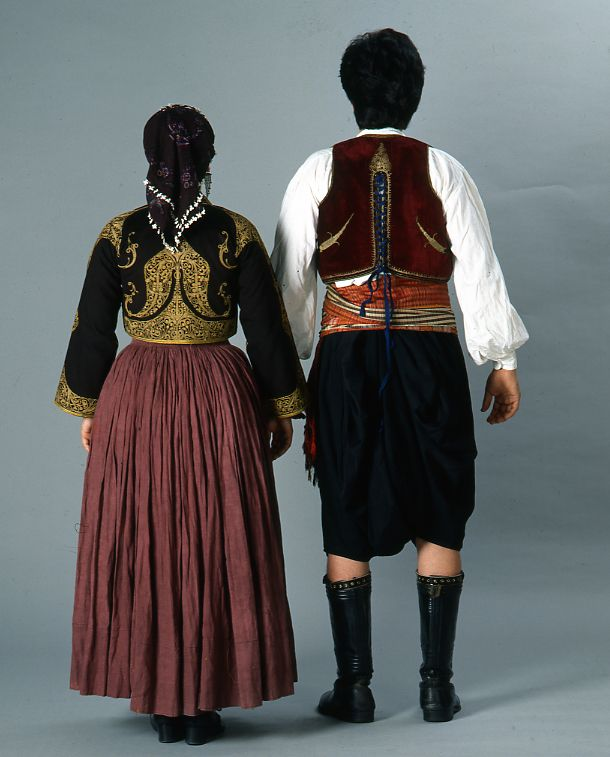 Traditional Costume clipart tribal man Images dresses Cypriot Front man's