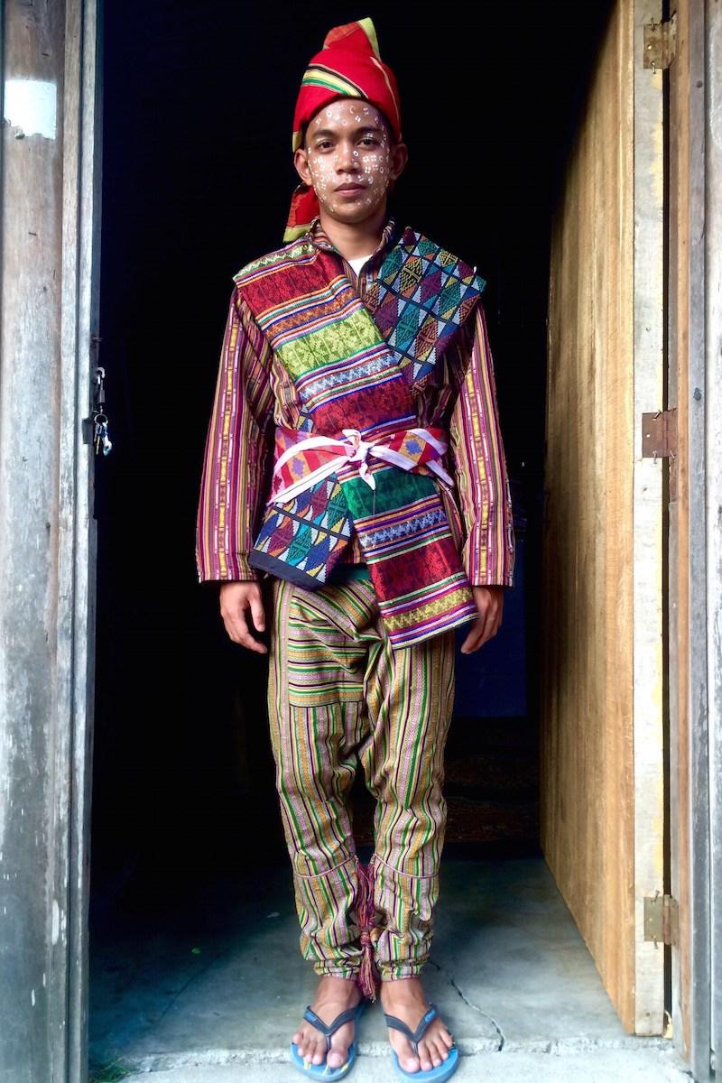 Traditional Costume clipart tribal man City mindanao Yakan philippines dress