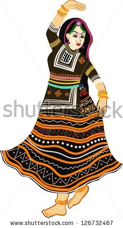 Traditional clipart tribal dance Collections of rajasthan BBCpersian7 Images