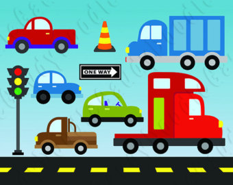 Traffic clipart car bus Cliparts Traffic Synkee Clipart traffic