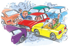 Crash clipart traffic problem Free Free Clipart  Jam