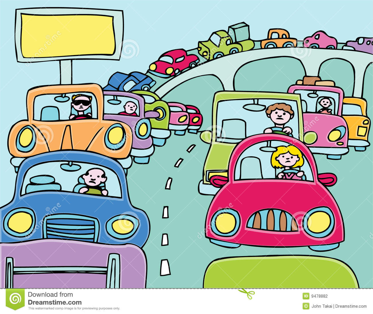 Traffic clipart #9