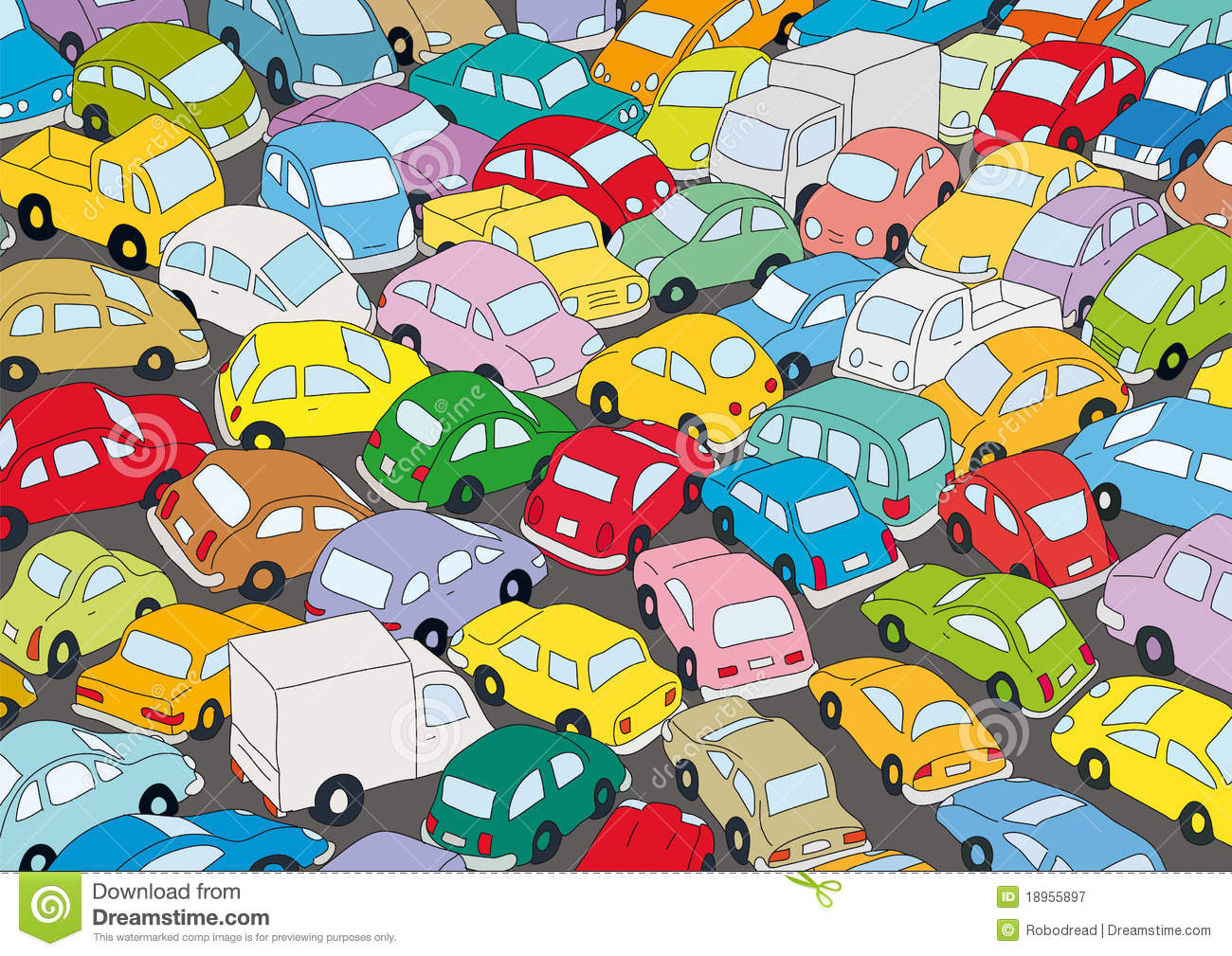 Traffic clipart #14