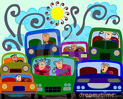 Traffic clipart #11