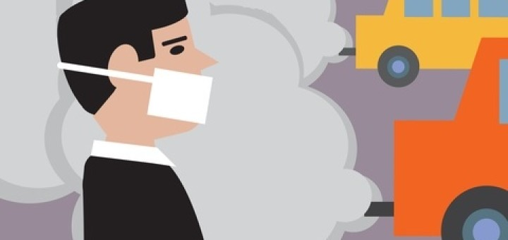 Traffic clipart air pollution #3