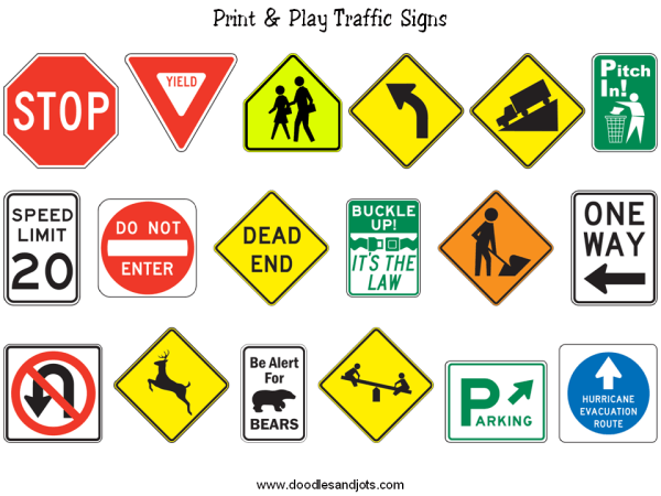 Traffic clipart bad environment To signs signs traffic centers