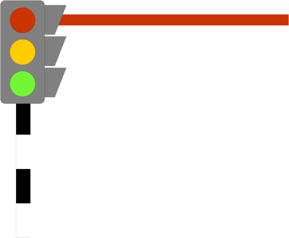 Traffic clipart borders #2