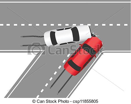 Traffic clipart car accident Auto road traffic of cars