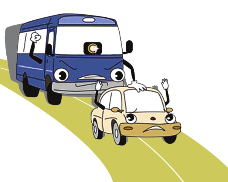 Traffic clipart car bus New designed intelligent bus for