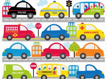 Traffic clipart car bus City Clipart Transportation City Meylah