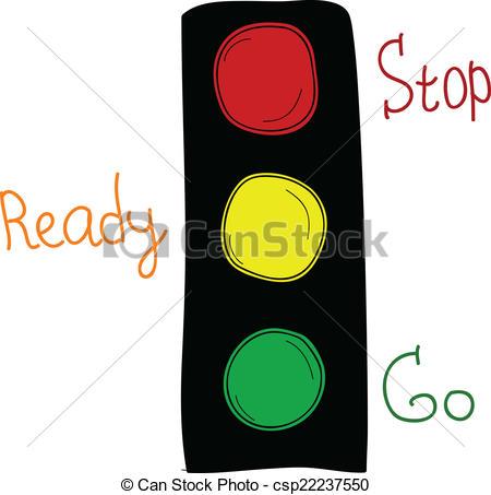 Traffic clipart cartoon Cartoon csp22237550 lights traffic of