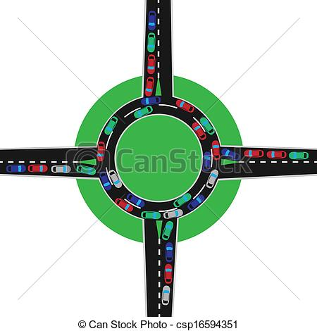 Traffic clipart chaos Jam circle traffic traffic jam