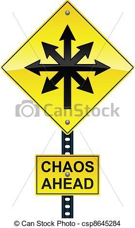 Traffic clipart chaos #5