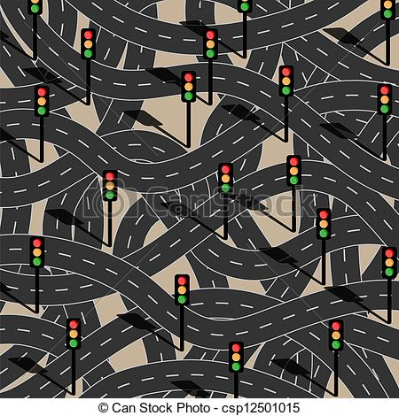 Traffic clipart chaos Vector with traffic Filled chaos