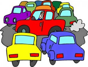 Crash clipart traffic problem Media Dealing Life: art congestion