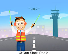 Controller clipart air traffic controller Air Clipart  and Controller