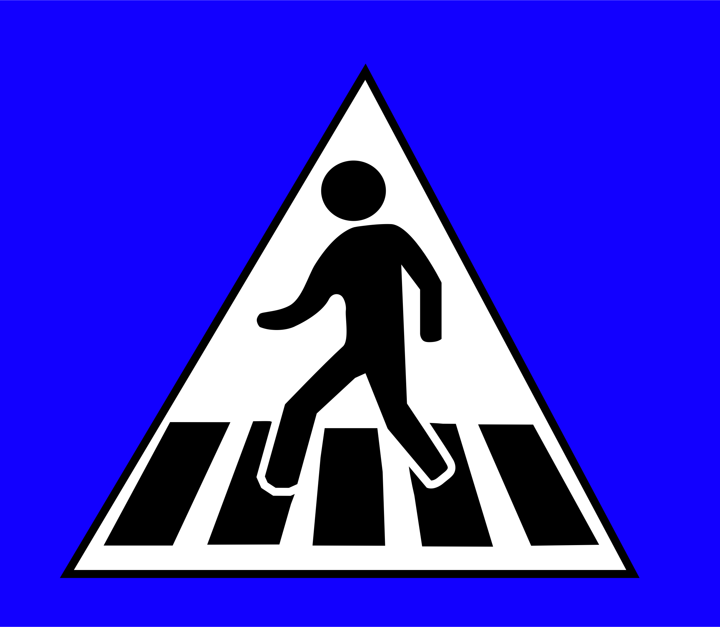 Traffic clipart cross street Crossing Sign Sign Traffic Crossing