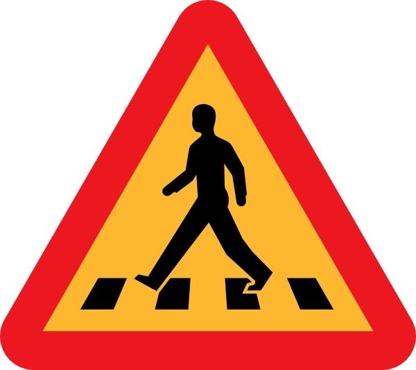 Traffic clipart crosswalk Crossing crosswalk  (28 download