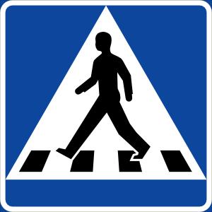 Traffic clipart crosswalk #8