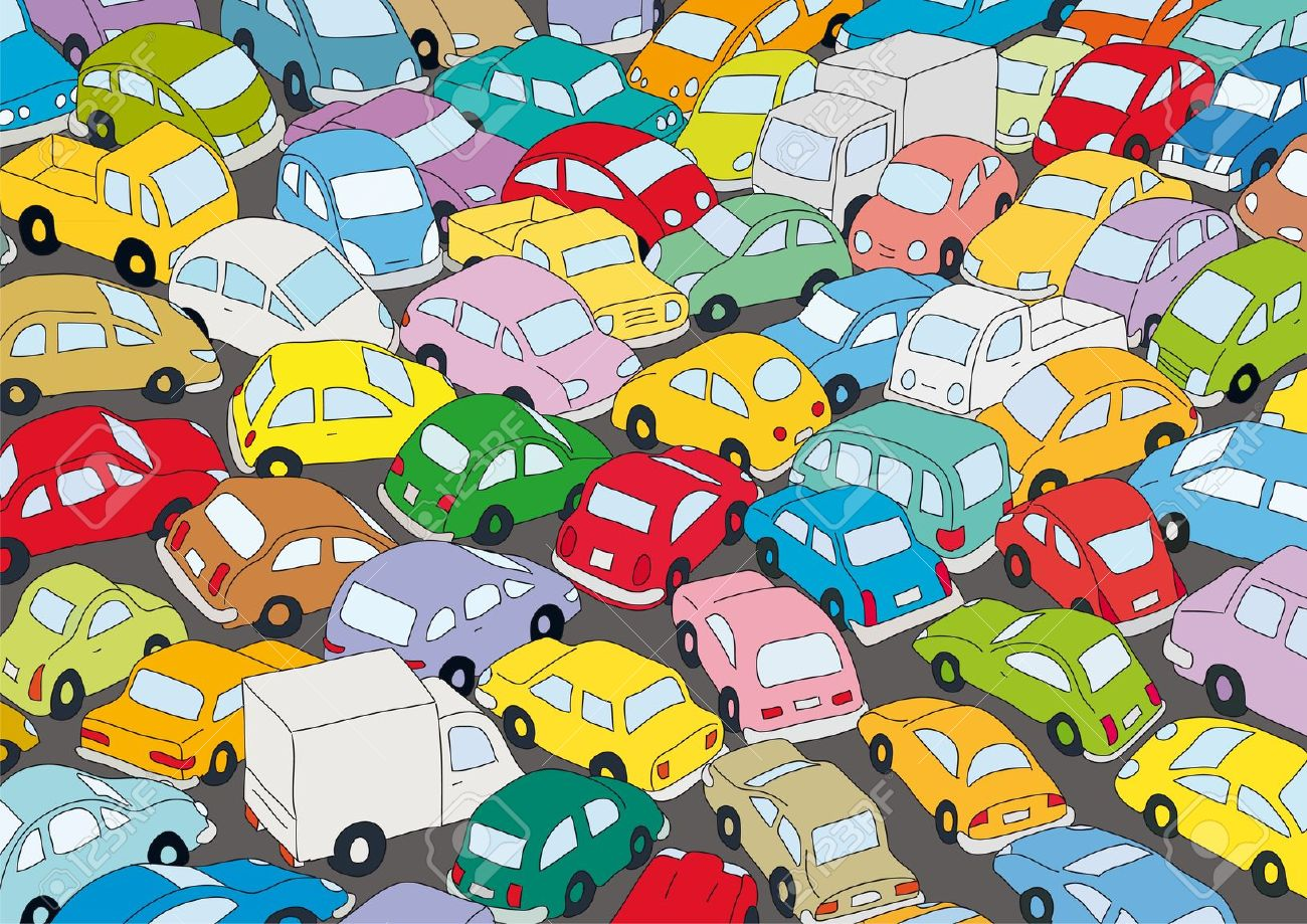 Traffic clipart crowded city Traffic Traffic Clipart Jam cliparts