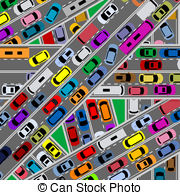 Traffic clipart drawing Illustrations  problems and Traffic