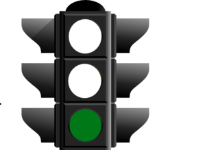 Traffic clipart green light Art online Light Clker at
