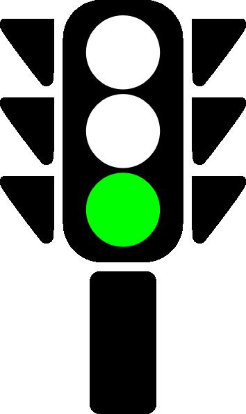 Traffic clipart green light Vector clip Semaphore Art Clip