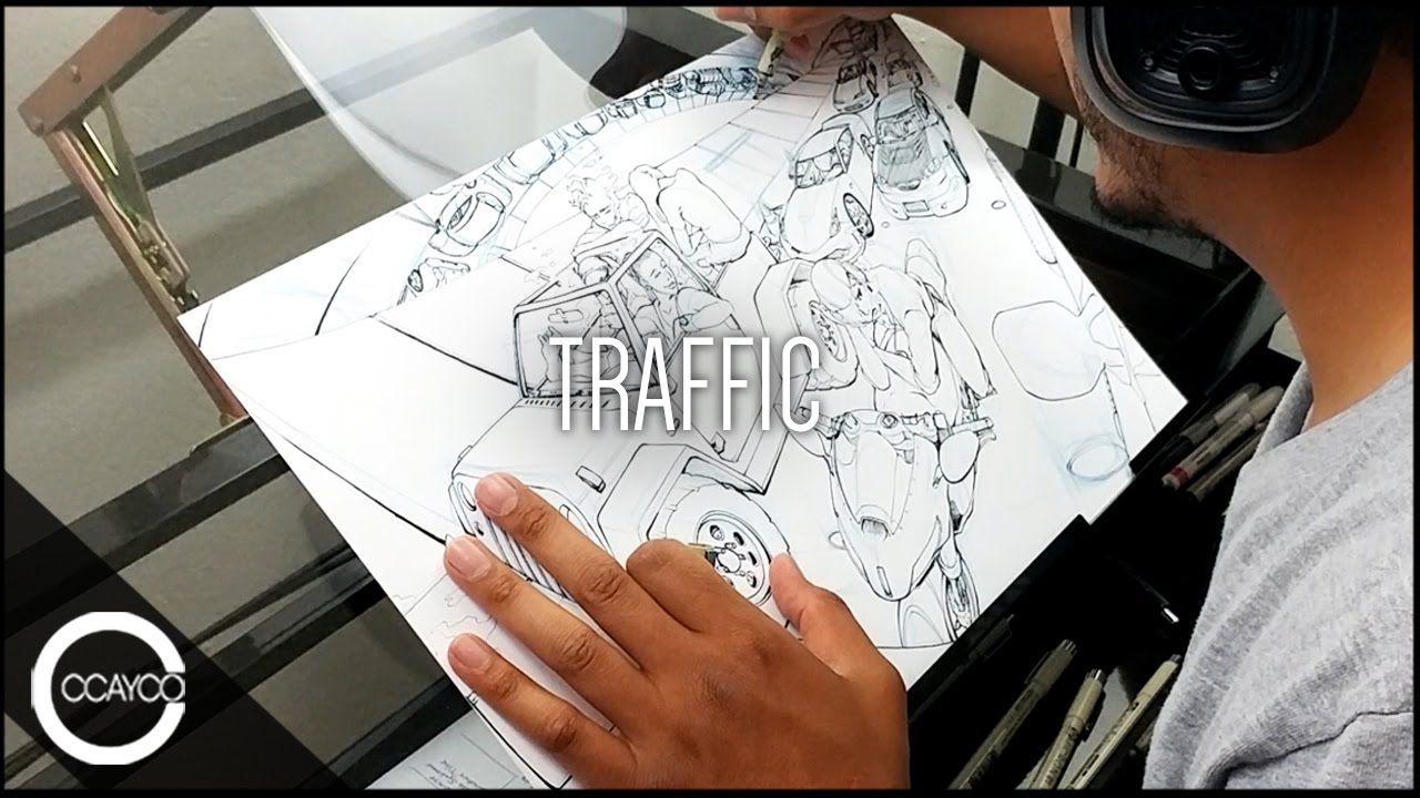 Traffic clipart hawaldar YouTube Piece Original Drawing