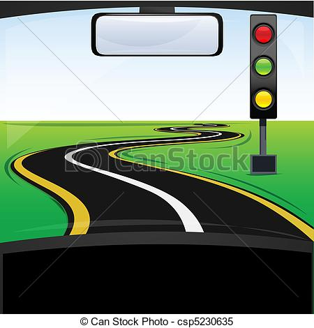 Traffic clipart illustration Way Vector traffic  way