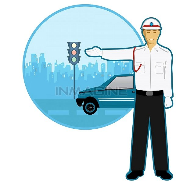 Traffic clipart indian Traffic directing clipart policeman Police