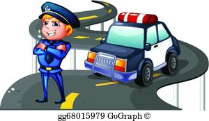 Traffic clipart inforcer Of girl Vector the his