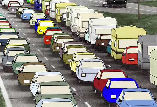 Traffic clipart jammed Traffic and with to to