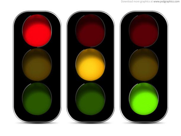 Traffic clipart ligh Clip PSDGraphics on Light lights