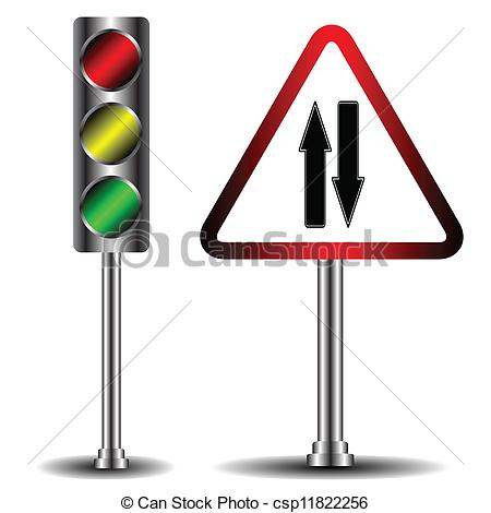 Traffic clipart ligt And road csp11822256 and Traffic