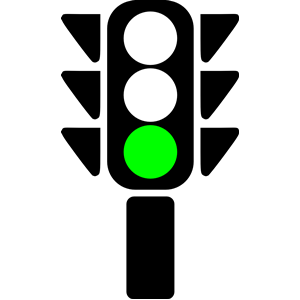 Traffic clipart ligt Green light Traffic collection semaphore
