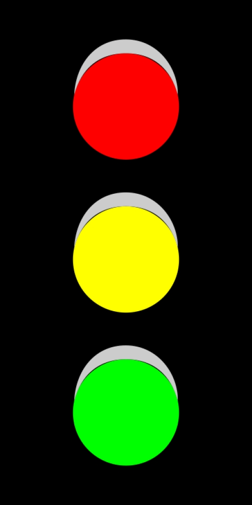 Traffic clipart ligt Animated traffic clipart 27095Top light