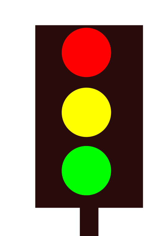 Traffic clipart ligth ClipartMonk traffic Free Images lights