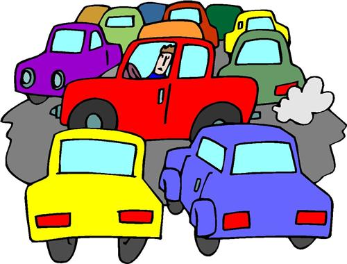Traffic clipart parking lot #3