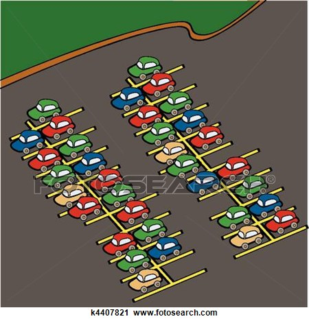 Traffic clipart parking lot #4