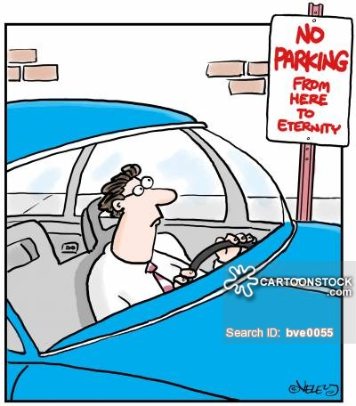 Traffic clipart parking space Funny Cartoons from Parking Space