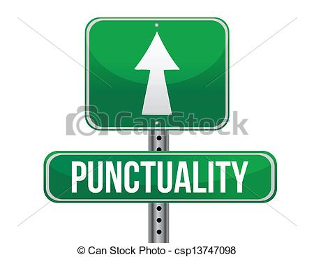 Traffic clipart punctuality Vector of road punctuality EPS