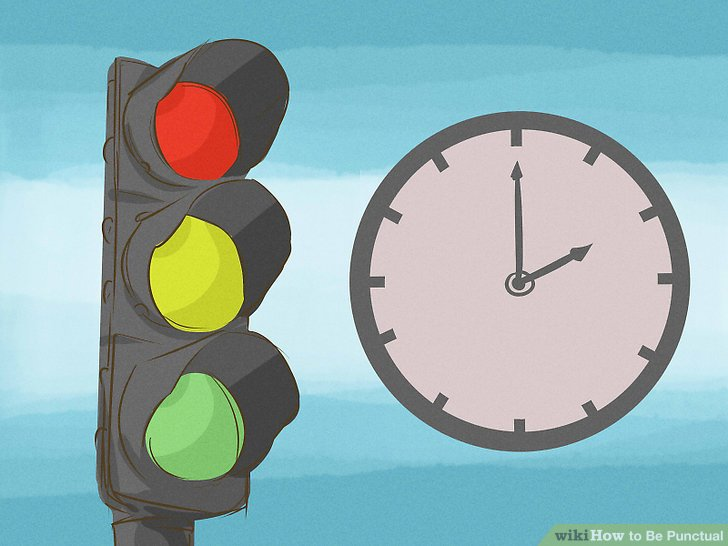 Traffic clipart punctuality Image to Punctual Be 3