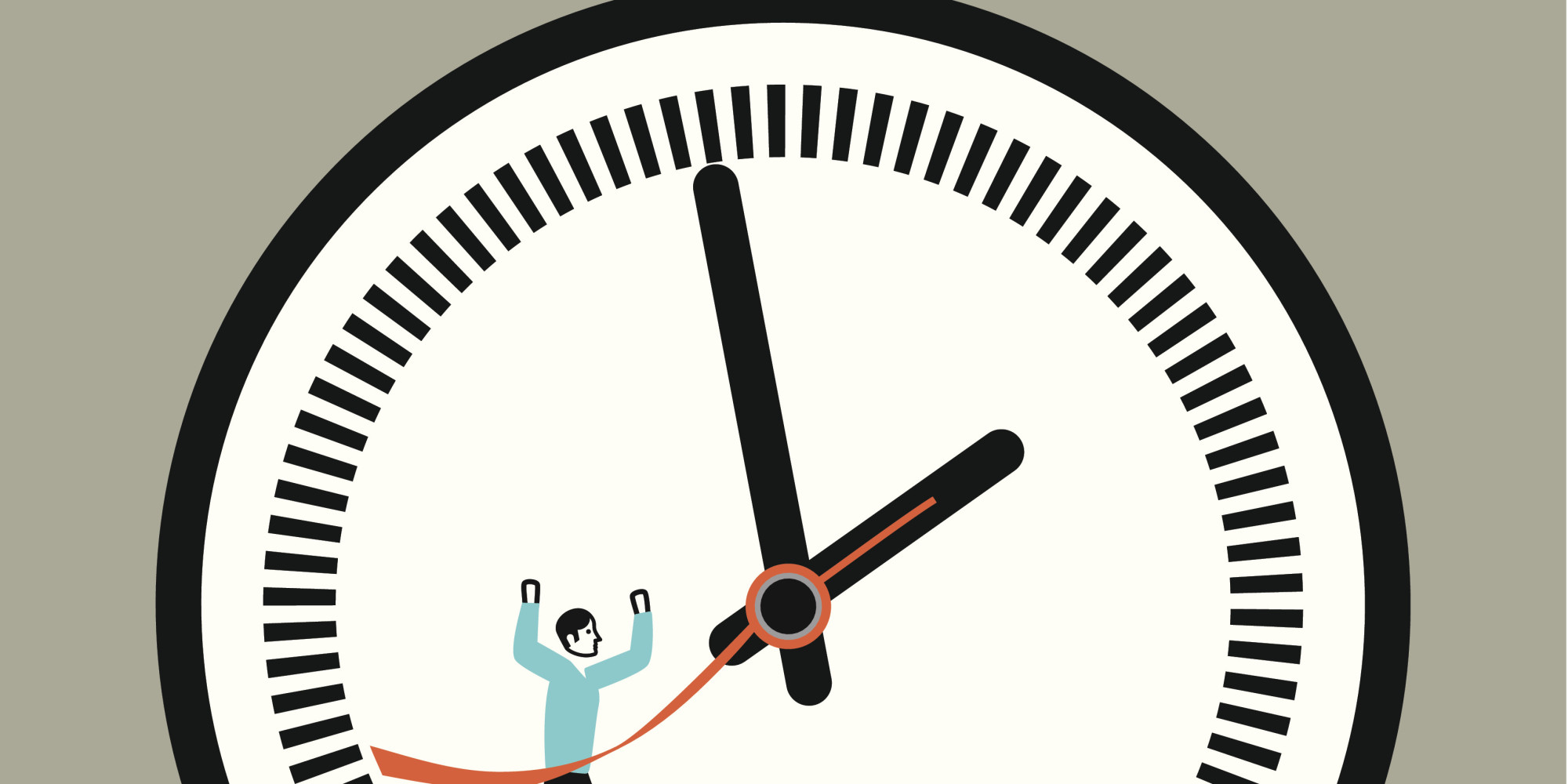 Traffic clipart punctuality  HuffPost Punctual Business Being