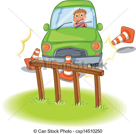 Traffic clipart reckless driving A Vector reckless  the