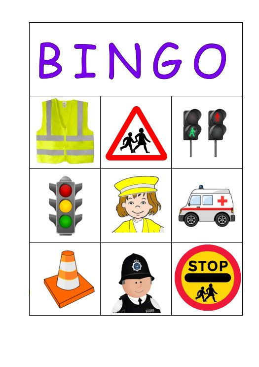Traffic clipart road safety #3