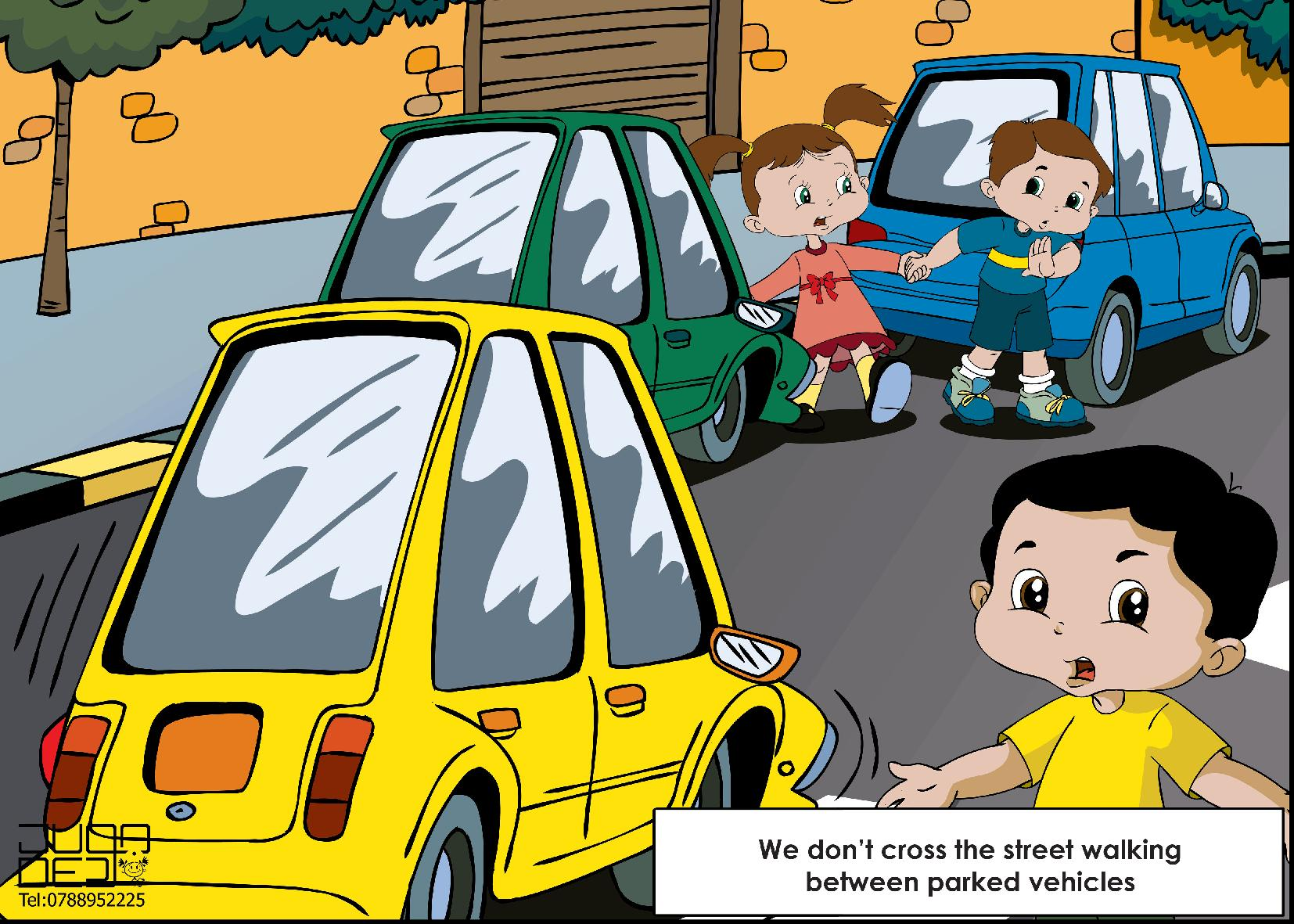 Traffic clipart road safety #13