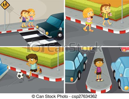 Traffic clipart road safety #5
